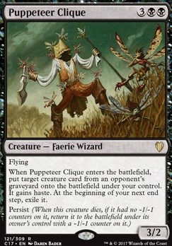 Commander 2017: Puppeteer Clique