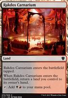 Commander 2017: Rakdos Carnarium