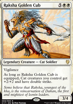 Commander 2017: Raksha Golden Cub