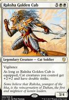 Commander 2017: Raksha Golden Cub