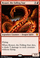 Commander 2017: Ryusei, the Falling Star