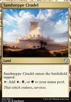 Commander 2017: Sandsteppe Citadel