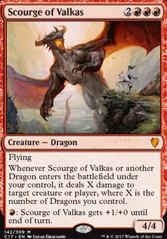 Commander 2017: Scourge of Valkas