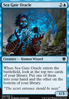 Commander 2017: Sea Gate Oracle