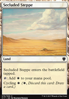 Commander 2017: Secluded Steppe