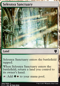 Commander 2017: Selesnya Sanctuary