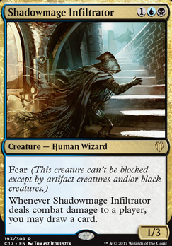 Commander 2017: Shadowmage Infiltrator