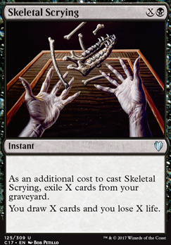Commander 2017: Skeletal Scrying