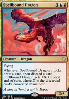 Commander 2017: Spellbound Dragon