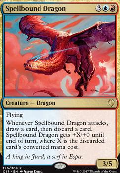 Commander 2017: Spellbound Dragon