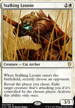Commander 2017: Stalking Leonin