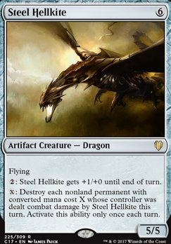 Commander 2017: Steel Hellkite