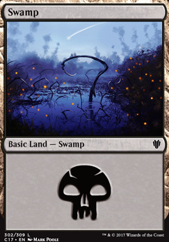 Commander 2017: Swamp (302 B)
