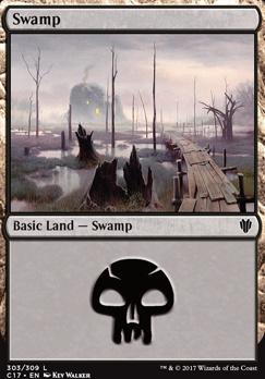 Commander 2017: Swamp (303 C)