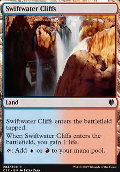 Commander 2017: Swiftwater Cliffs