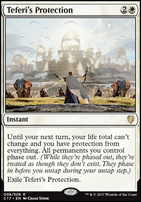 Commander 2017: Teferi's Protection
