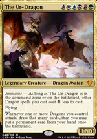 Commander 2017: The Ur-Dragon (Foil)
