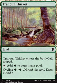 Commander 2017: Tranquil Thicket