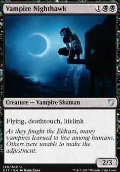 Commander 2017: Vampire Nighthawk