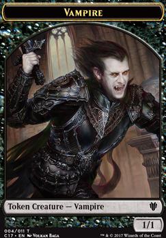 Commander 2017: Vampire Token - Zombie Token