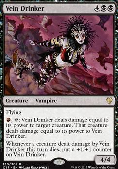 Commander 2017: Vein Drinker
