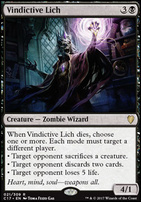 Commander 2017: Vindictive Lich