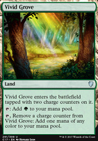 Commander 2017: Vivid Grove