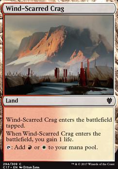 Commander 2017: Wind-Scarred Crag
