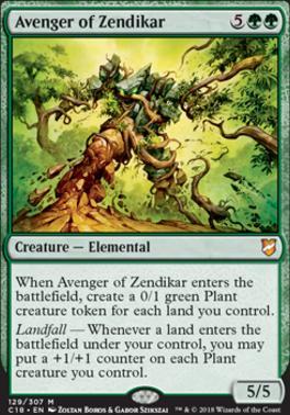 Commander 2018: Avenger of Zendikar