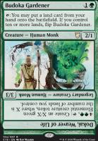 Commander 2018: Budoka Gardener