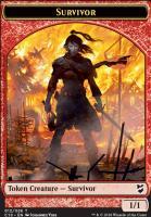 Commander 2018: Survivor Token - Myr Token