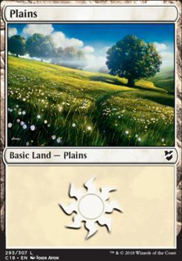 Commander 2018: Plains (293)