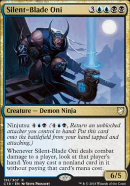 Commander 2018: Silent-Blade Oni
