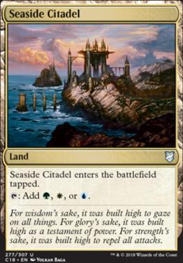 Commander 2018: Seaside Citadel
