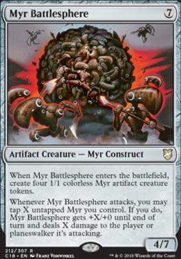 Commander 2018: Myr Battlesphere