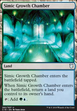 Commander 2018: Simic Growth Chamber