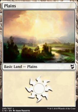 Commander 2018: Plains (295)