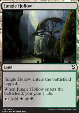 Commander 2018: Jungle Hollow