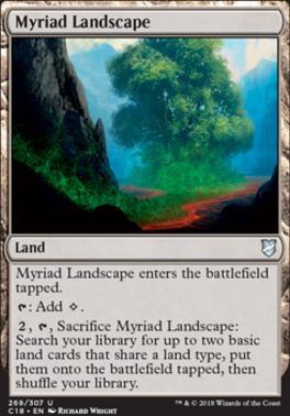 Commander 2018: Myriad Landscape