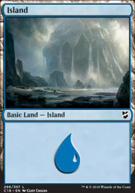 Commander 2018: Island (296)