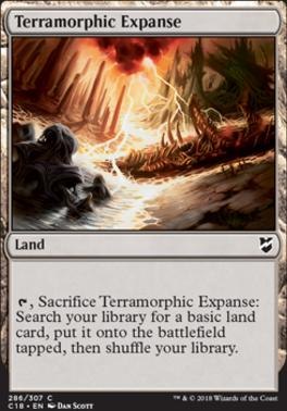 Commander 2018: Terramorphic Expanse