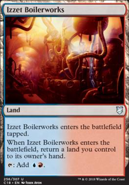 Commander 2018: Izzet Boilerworks