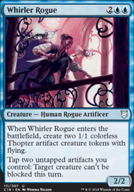 Commander 2018: Whirler Rogue