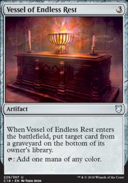 Commander 2018: Vessel of Endless Rest