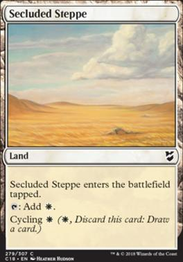 Commander 2018: Secluded Steppe