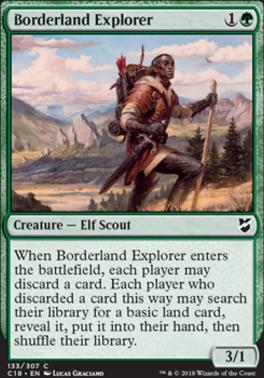 Commander 2018: Borderland Explorer