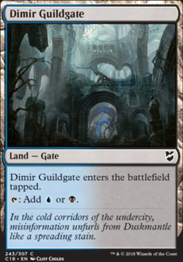 Commander 2018: Dimir Guildgate