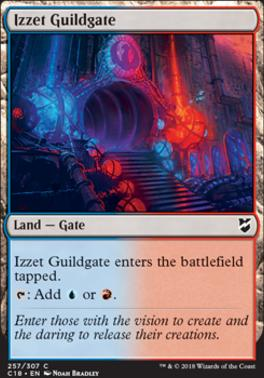 Commander 2018: Izzet Guildgate