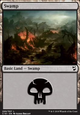 Commander 2018: Swamp (299)