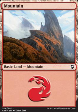 Commander 2018: Mountain (304)